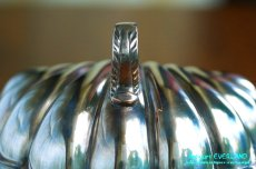 画像12: シルバー バターディッシュ シェル 貝殻 蓋付 (12)