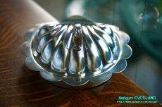 画像1: シルバー バターディッシュ シェル 貝殻 蓋付 (1)