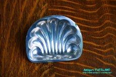 画像11: シルバー バターディッシュ シェル 貝殻 蓋付 (11)