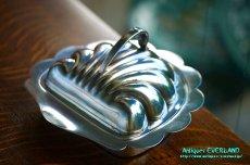 画像6: シルバー バターディッシュ シェル 貝殻 蓋付 (6)