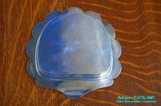 画像16: シルバー バターディッシュ シェル 貝殻 蓋付 (16)