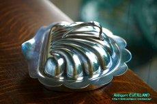 画像7: シルバー バターディッシュ シェル 貝殻 蓋付 (7)
