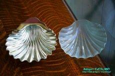 画像4: シルバー William Padley & Son バターディッシュ シェル 貝殻 (4)