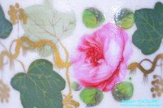 画像10: ダービー カップ&ソーサー ローズ 薔薇 蔦 (10)