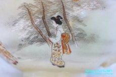 画像5: 神戸山手 寺岡 カップ&ソーサー ペア 卵殻焼 エッグ・シェル 明治 輸出 (5)