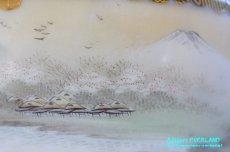 画像13: 神戸山手 寺岡 カップ&ソーサー ペア 卵殻焼 エッグ・シェル 明治 輸出 (13)