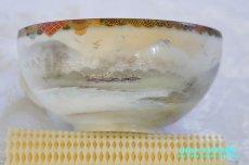 画像12: 神戸山手 寺岡 カップ&ソーサー ペア 卵殻焼 エッグ・シェル 明治 輸出 (12)