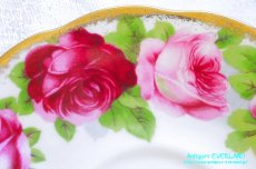 画像15: ロイヤル・アルバート ダブルソーサー Old English Rose オールド イングリッシュ ローズ (15)