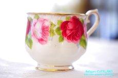 画像9: ロイヤル・アルバート ダブルソーサー Old English Rose オールド イングリッシュ ローズ (9)