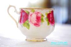 画像7: ロイヤル・アルバート ダブルソーサー Old English Rose オールド イングリッシュ ローズ (7)