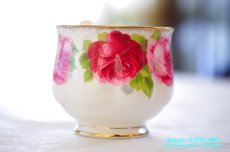 画像8: ロイヤル・アルバート ダブルソーサー Old English Rose オールド イングリッシュ ローズ (8)
