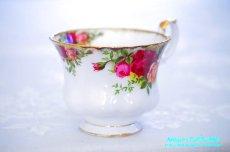 画像10: ロイヤル・アルバート カップ&ソーサー Old Country Roses オールド カントリー ローズ (10)