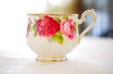 画像3: ロイヤル・アルバート ダブルソーサー Old English Rose オールド イングリッシュ ローズ (3)