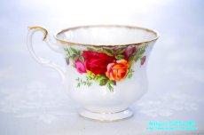 画像7: ロイヤル・アルバート カップ&ソーサー Old Country Roses オールド カントリー ローズ (7)