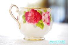画像6: ロイヤル・アルバート ダブルソーサー Old English Rose オールド イングリッシュ ローズ (6)