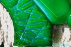 画像16: アールデコ ボヘミアン マラカイトガラス 香水瓶 パーフュームボトル (16)