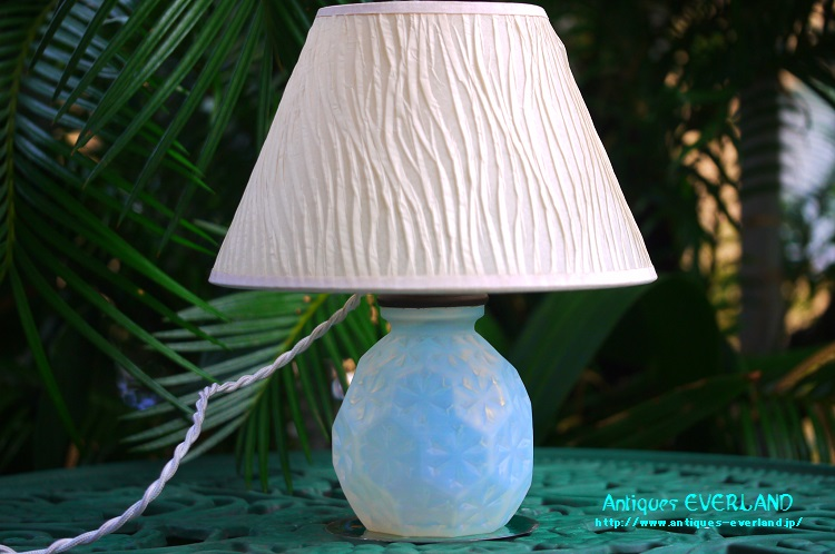 画像1: エトラン オパレッセント アールデコ ランプ (1)